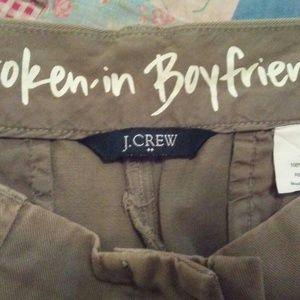 J Crew Broken-In Boyfriend Short